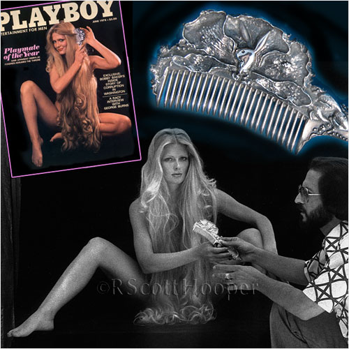 Photo of Playmate of the Year Debra Jo Fondren on Playboy cover