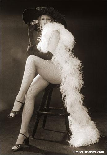 Janet Boyd, Minsky Burlesque star