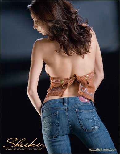 Photo of woman in Sheiki Jeans- Hot, hip womens fashion