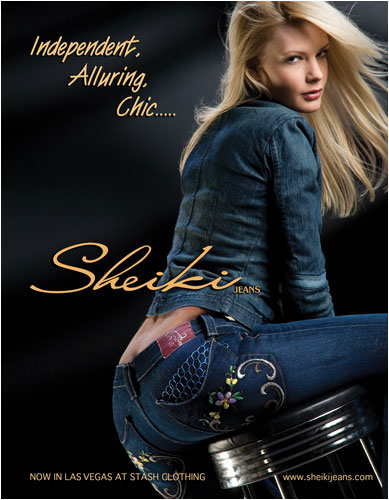 Sheiki Jeans- Hot, hip womens fashion