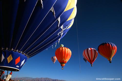 Photo of Balloon Races over Las Vegas, NV