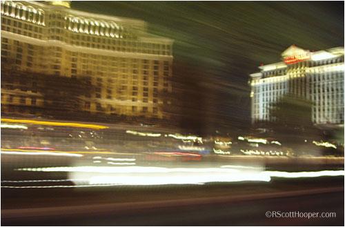 Bellagio an Caesars Palace Hotel in Las Vegas